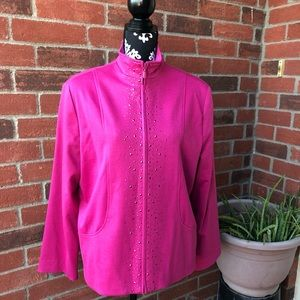 Alfred Dunner Pink Sweater